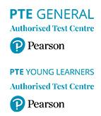 Scuola di Lingue e Formazione Inglese a Jesi Ancona Certificata Pearson PTE General | immagine loghi Pearson